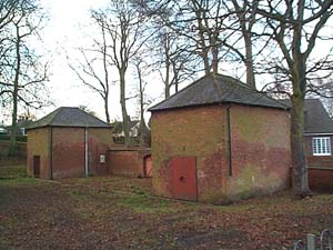 The outbuildings at risk in the Preston Road scheme.