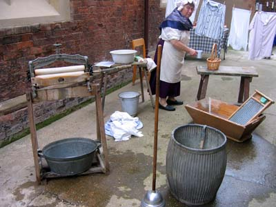 The Victorian washday experience.